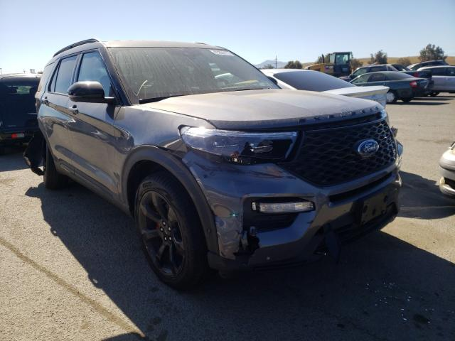 Salvage cars for sale from Copart Martinez, CA: 2021 Ford Explorer S