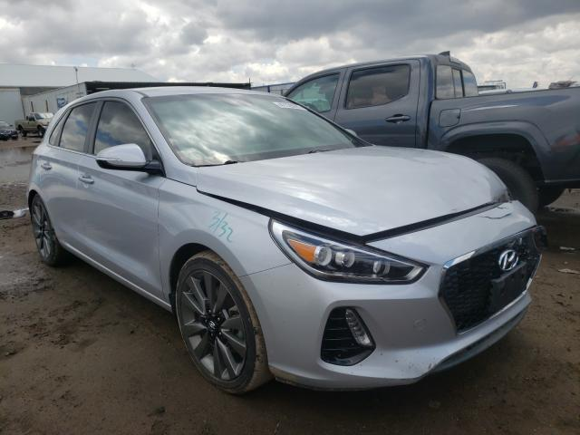Hyundai salvage cars for sale: 2018 Hyundai Elantra GT