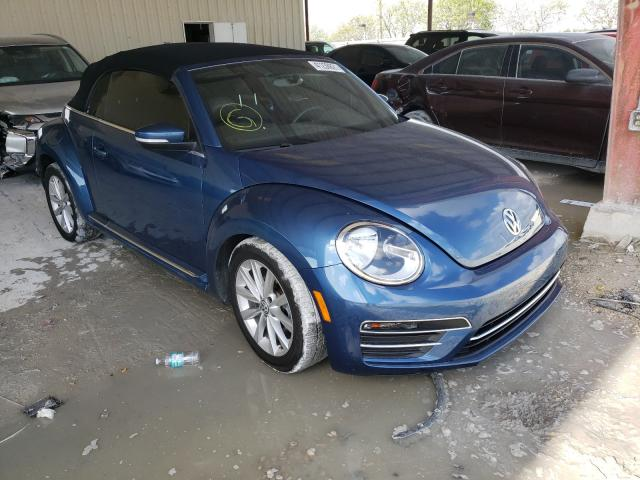 Salvage cars for sale from Copart Homestead, FL: 2019 Volkswagen Beetle S