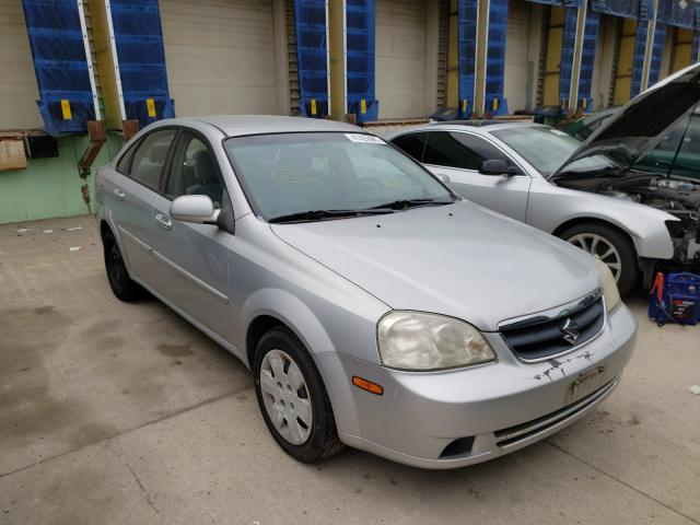 Salvage cars for sale from Copart Columbus, OH: 2006 Suzuki Forenza