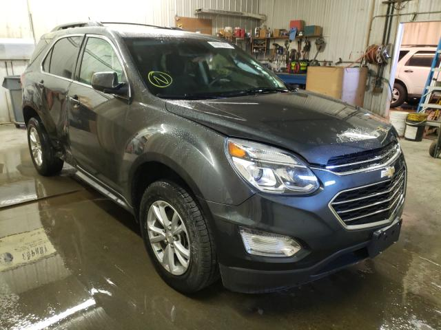 Salvage cars for sale from Copart Avon, MN: 2017 Chevrolet Equinox LT