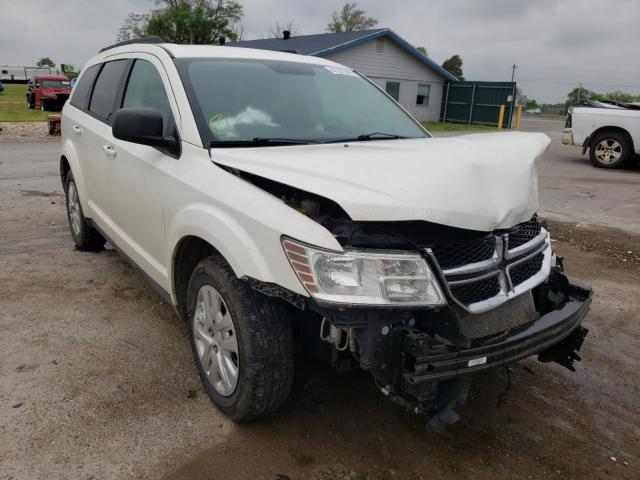 Salvage cars for sale from Copart Sikeston, MO: 2017 Dodge Journey SE