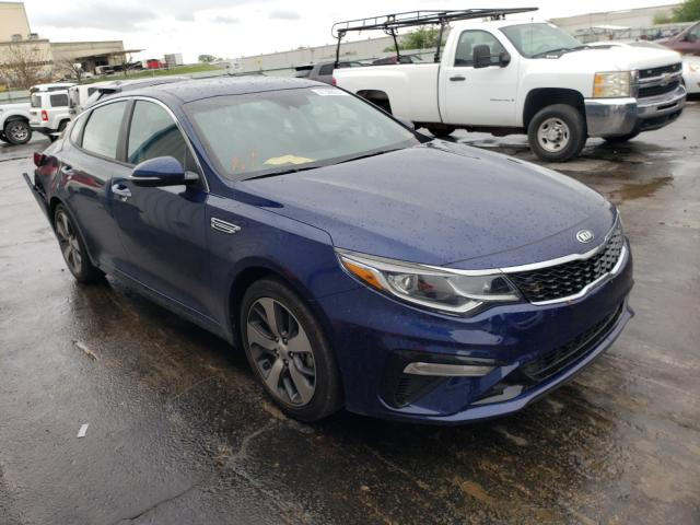 Salvage cars for sale from Copart Tulsa, OK: 2020 KIA Optima LX