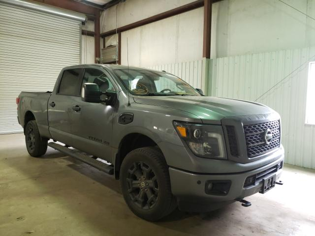 Salvage cars for sale from Copart Lufkin, TX: 2018 Nissan Titan XD S