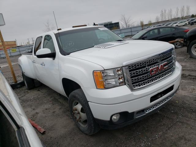 Salvage cars for sale from Copart Ontario Auction, ON: 2012 GMC Sierra K35