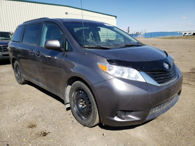 Salvage cars for sale from Copart Rocky View County, AB: 2013 Toyota Sienna LE