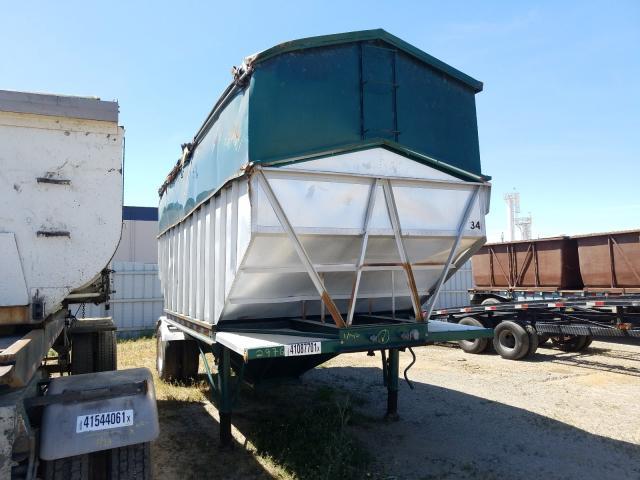 Vehiculos salvage en venta de Copart Sacramento, CA: 1974 Titan 53' Trailer