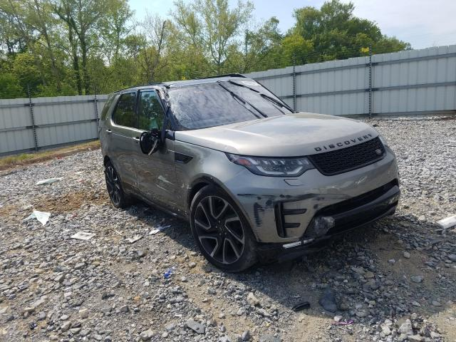 Salvage cars for sale from Copart Cartersville, GA: 2017 Land Rover Discovery