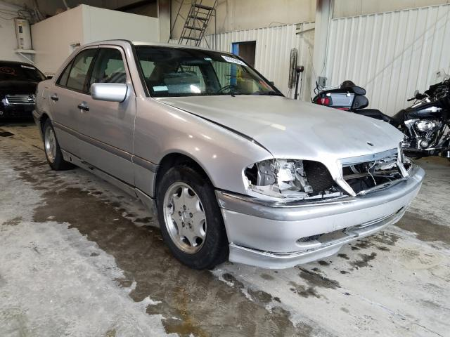 Salvage cars for sale from Copart Tulsa, OK: 2000 Mercedes-Benz C 280