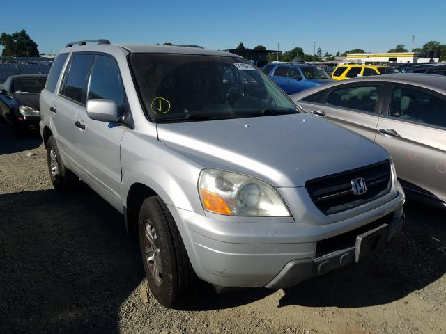 Salvage cars for sale from Copart Antelope, CA: 2004 Honda Pilot EXL