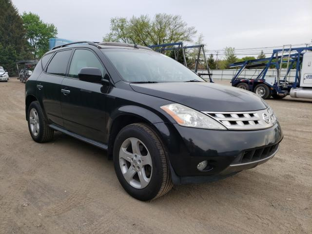 Salvage cars for sale from Copart Finksburg, MD: 2005 Nissan Murano SL