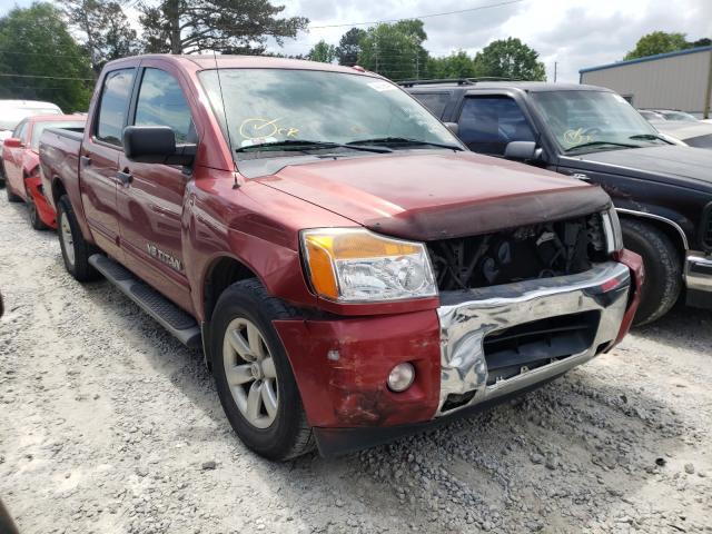 Nissan salvage cars for sale: 2014 Nissan Titan S