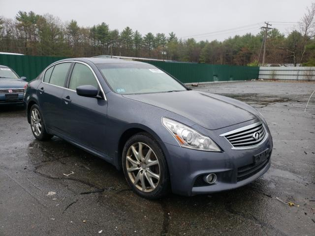 Salvage cars for sale from Copart Exeter, RI: 2011 Infiniti G37