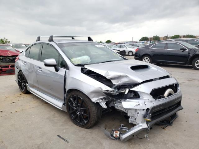 Salvage cars for sale from Copart Grand Prairie, TX: 2020 Subaru WRX Premium