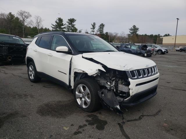 Salvage cars for sale from Copart Exeter, RI: 2018 Jeep Compass LA
