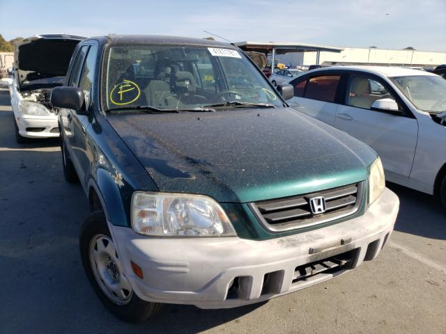 Salvage cars for sale from Copart Hayward, CA: 2001 Honda CR-V LX
