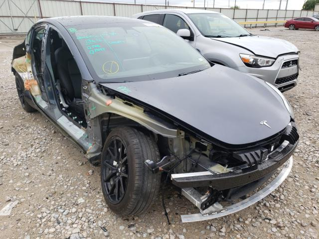 Salvage cars for sale from Copart Haslet, TX: 2020 Tesla Model 3