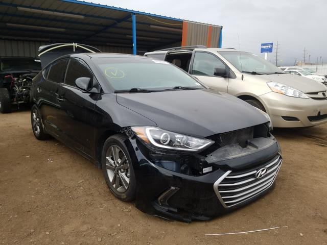 Hyundai salvage cars for sale: 2017 Hyundai Elantra SE