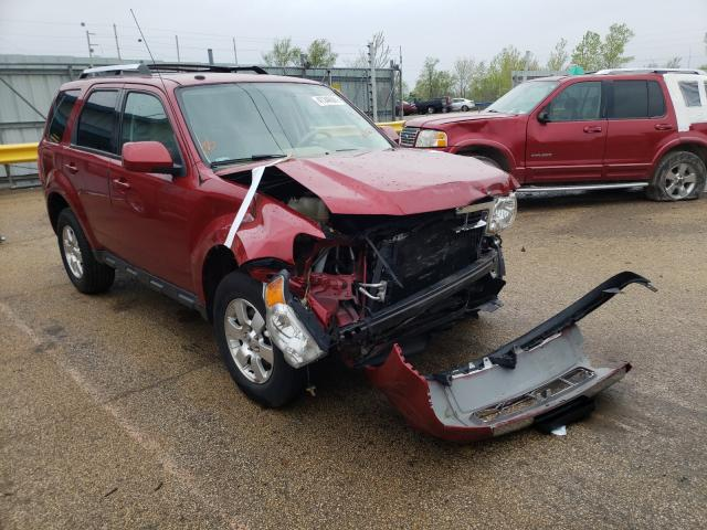 Salvage cars for sale from Copart Pekin, IL: 2012 Ford Escape LIM