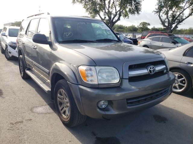 Salvage cars for sale from Copart Orlando, FL: 2007 Toyota Sequoia LI