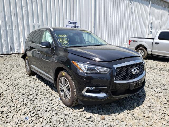 Salvage cars for sale from Copart Windsor, NJ: 2020 Infiniti QX60 Luxe