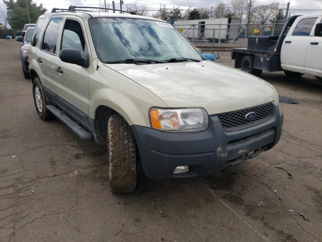 Ford salvage cars for sale: 2003 Ford Escape XLT