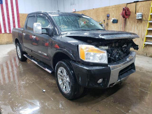 Salvage cars for sale from Copart Kincheloe, MI: 2012 Nissan Titan S