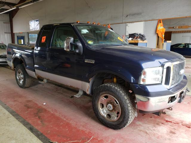 Salvage cars for sale from Copart Angola, NY: 2006 Ford F350 SRW S