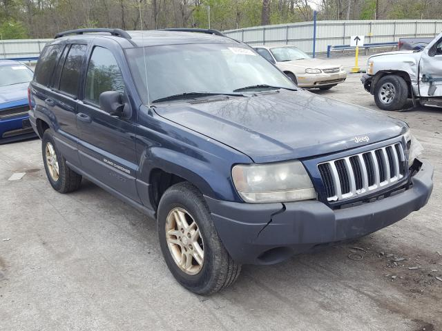 Salvage cars for sale from Copart Ellwood City, PA: 2004 Jeep Grand Cherokee