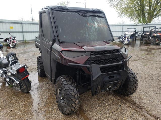 Salvage cars for sale from Copart Pekin, IL: 2018 Polaris Ranger XP