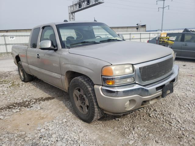 Salvage cars for sale from Copart Columbus, OH: 2005 GMC New Sierra