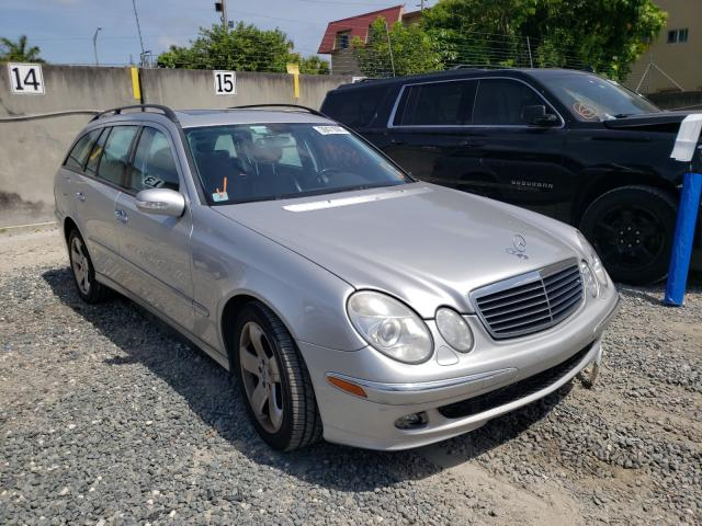 Salvage cars for sale from Copart Opa Locka, FL: 2005 Mercedes-Benz E 500 4matic