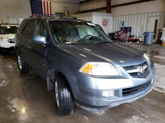 Salvage cars for sale from Copart Rogersville, MO: 2006 Acura MDX Touring