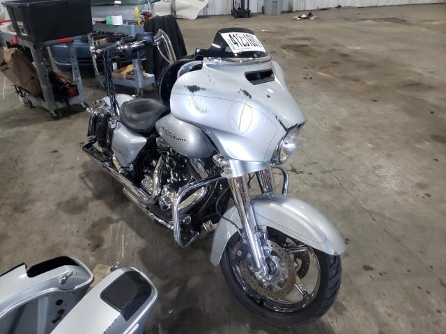 Salvage cars for sale from Copart Woodburn, OR: 2015 Harley-Davidson Flhxs Street