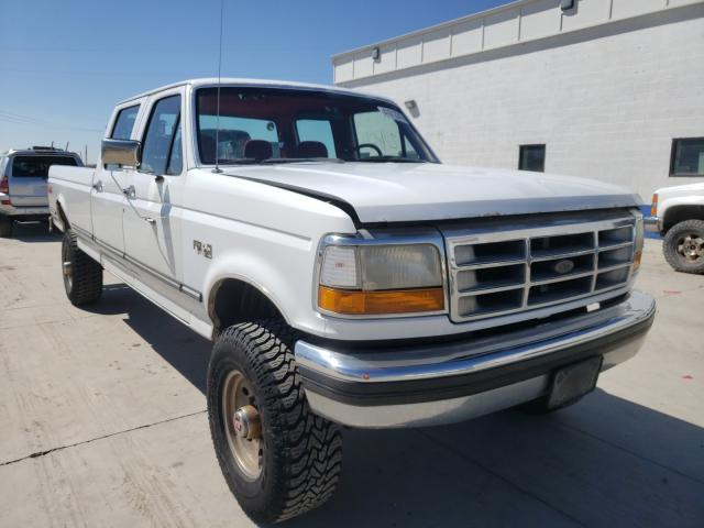 Ford F350 salvage cars for sale: 1993 Ford F350