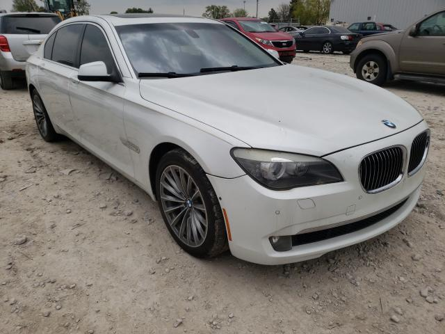 Salvage cars for sale from Copart Columbus, OH: 2011 BMW 750 LI