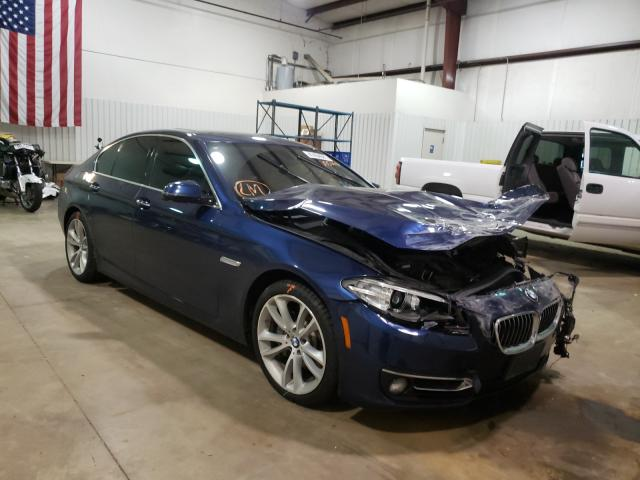 Salvage cars for sale from Copart Lufkin, TX: 2016 BMW 535 XI