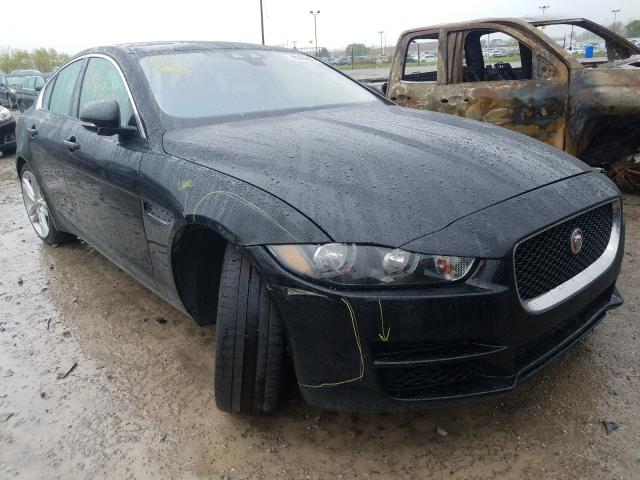 Salvage cars for sale from Copart Indianapolis, IN: 2017 Jaguar XE Premium
