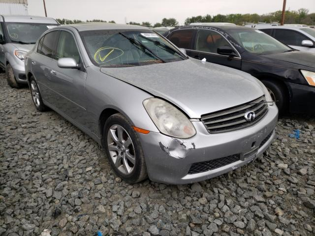 Salvage cars for sale from Copart Windsor, NJ: 2005 Infiniti G35