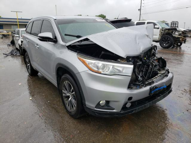 Salvage cars for sale from Copart Lebanon, TN: 2016 Toyota Highlander