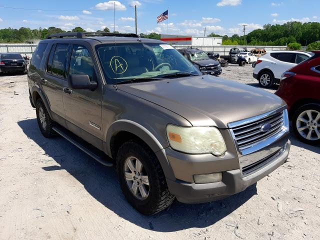 Salvage cars for sale from Copart Montgomery, AL: 2006 Ford Explorer X