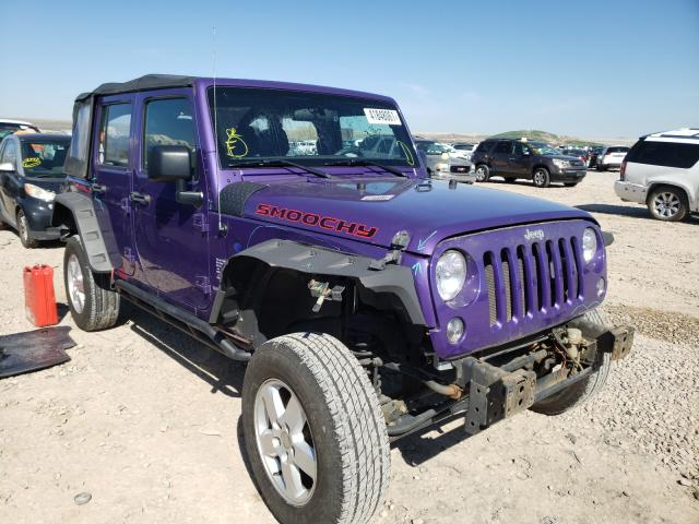 Salvage cars for sale at Magna, UT auction: 2017 Jeep Wrangler U