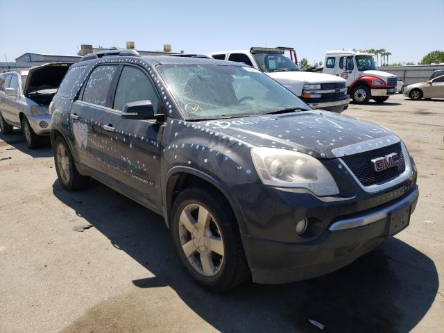 Salvage cars for sale from Copart Bakersfield, CA: 2007 GMC Acadia SLT