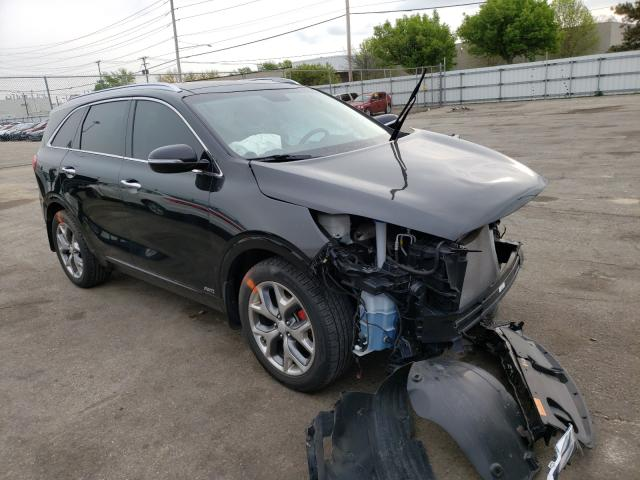 KIA Sorento salvage cars for sale: 2018 KIA Sorento
