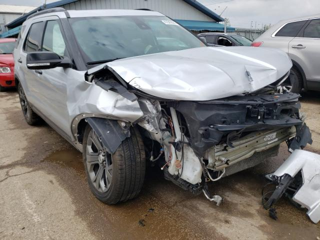 Salvage cars for sale from Copart Pekin, IL: 2018 Ford Explorer S