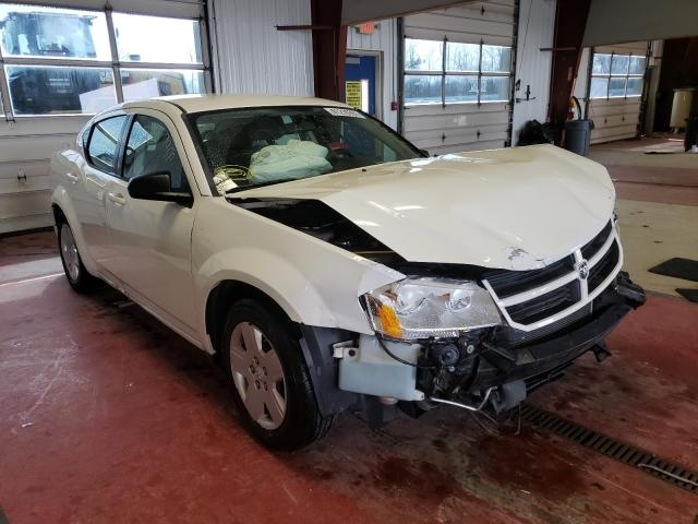 Salvage cars for sale from Copart Angola, NY: 2008 Dodge Avenger SE