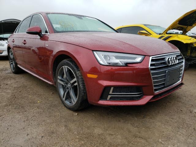 2018 Audi A4 Premium en venta en Temple, TX