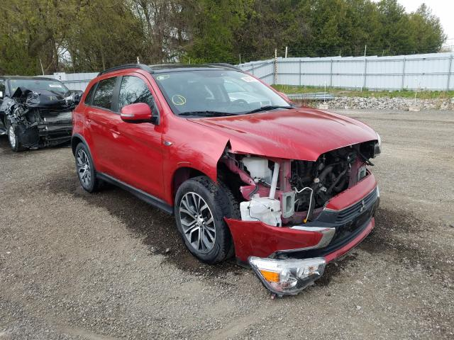 Salvage cars for sale from Copart London, ON: 2017 Mitsubishi RVR SE LIM