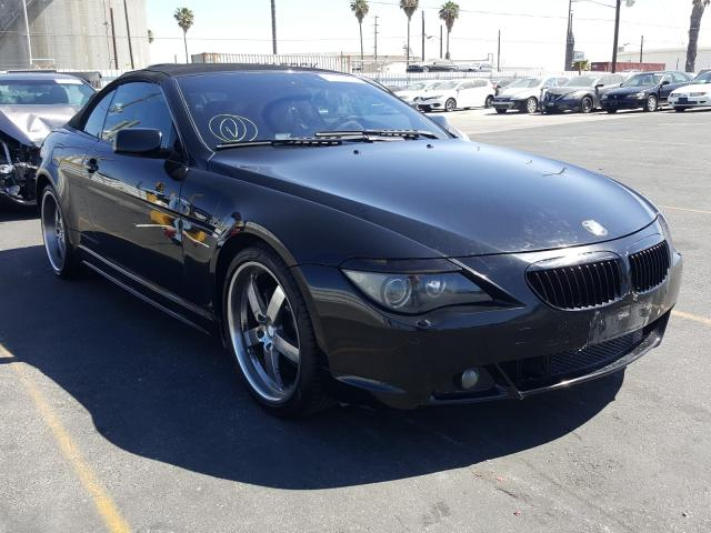 Vehiculos salvage en venta de Copart Wilmington, CA: 2007 BMW 650 I