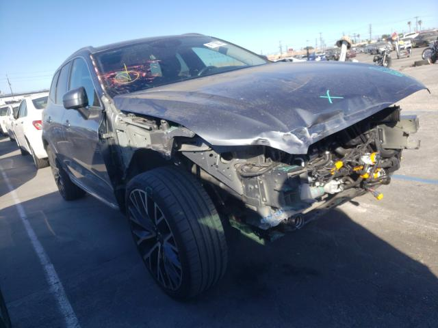 Salvage cars for sale from Copart Sun Valley, CA: 2018 Volvo XC60 T6 IN